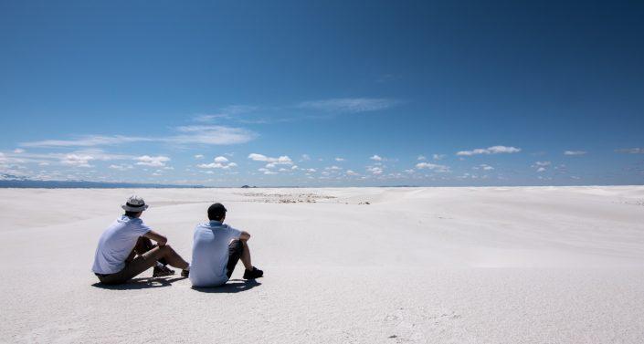 Un désert au milieu du désert