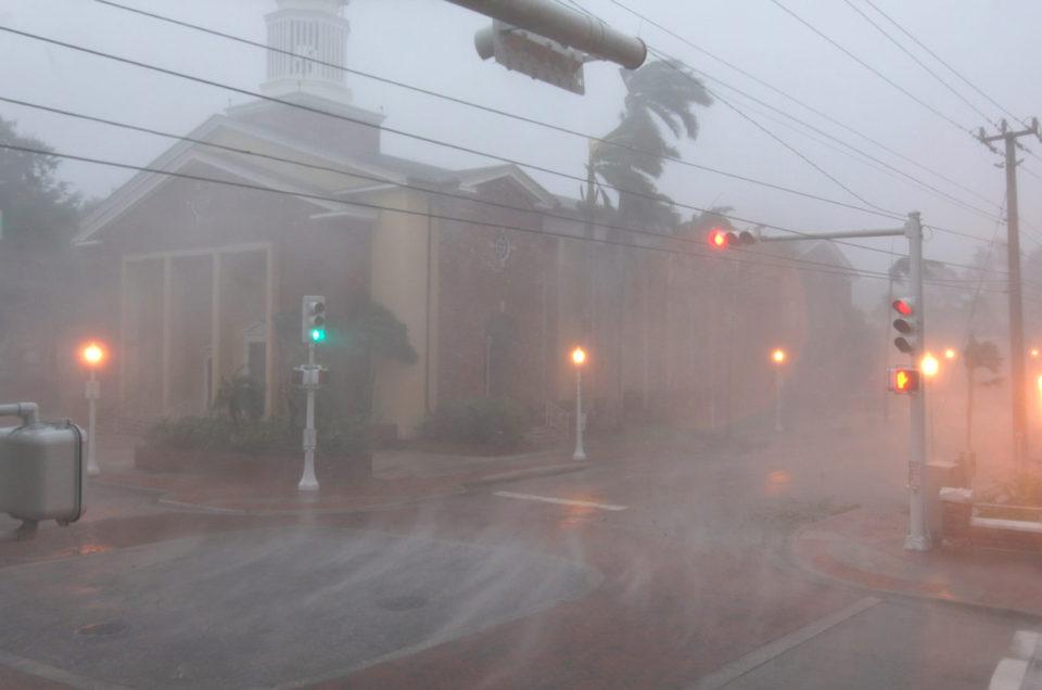 J'ai chassé l'ouragan IRMA